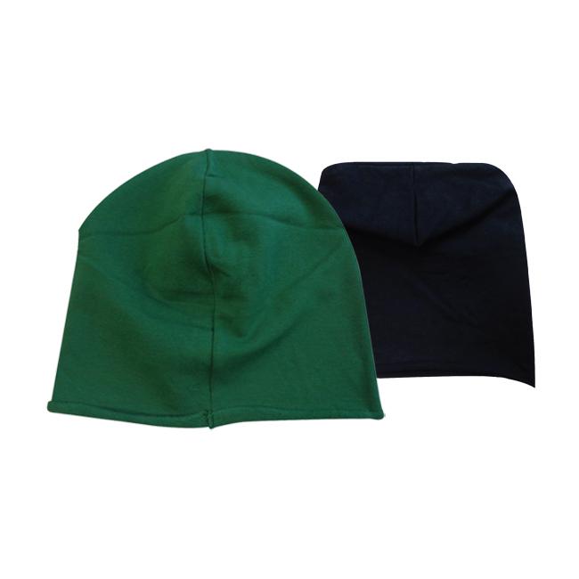 Berretta Rasta Pile Verde / Nero