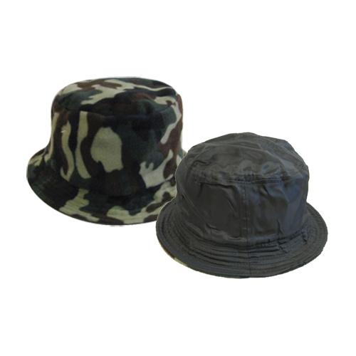 Cappello Caschetto Verde Reversibile