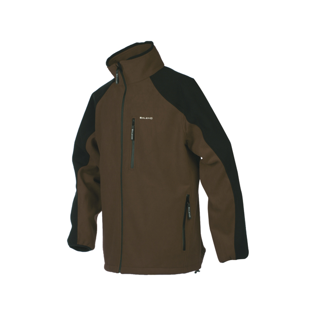 Giacca Chamonix Fleece Marrone / Nero