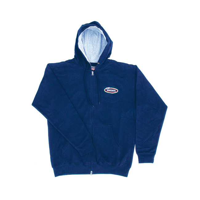 Felpa Cotone Ignesti Colore Blu Navy - Grigio  Tg. S - M - L - XL - XXL