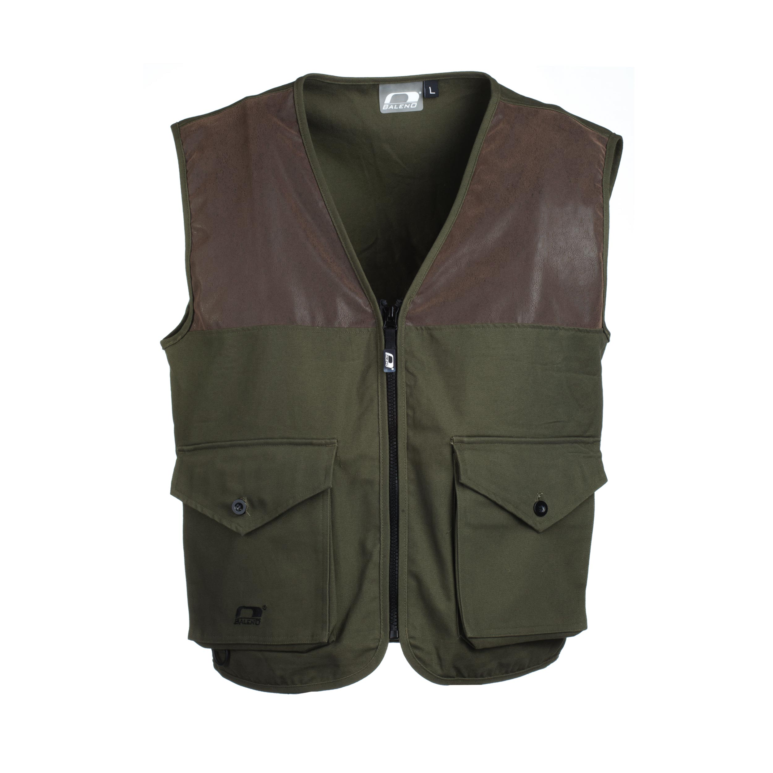 Gilet Caccia Savanna Canvas Cotton