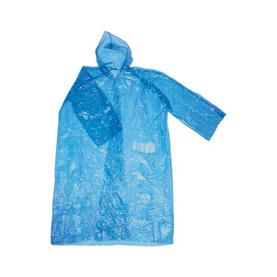 Impermeabile Tascabile Azzurro