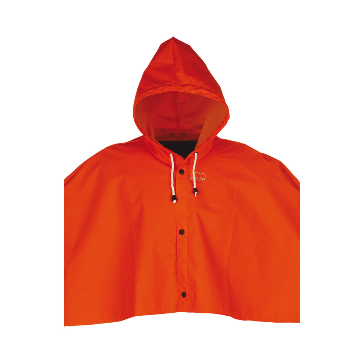 Mantellina Torrent Flexothane Orange Fluò