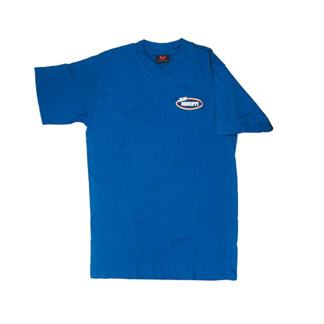 T-Shirt Ignesti in Cotone Blu Royal