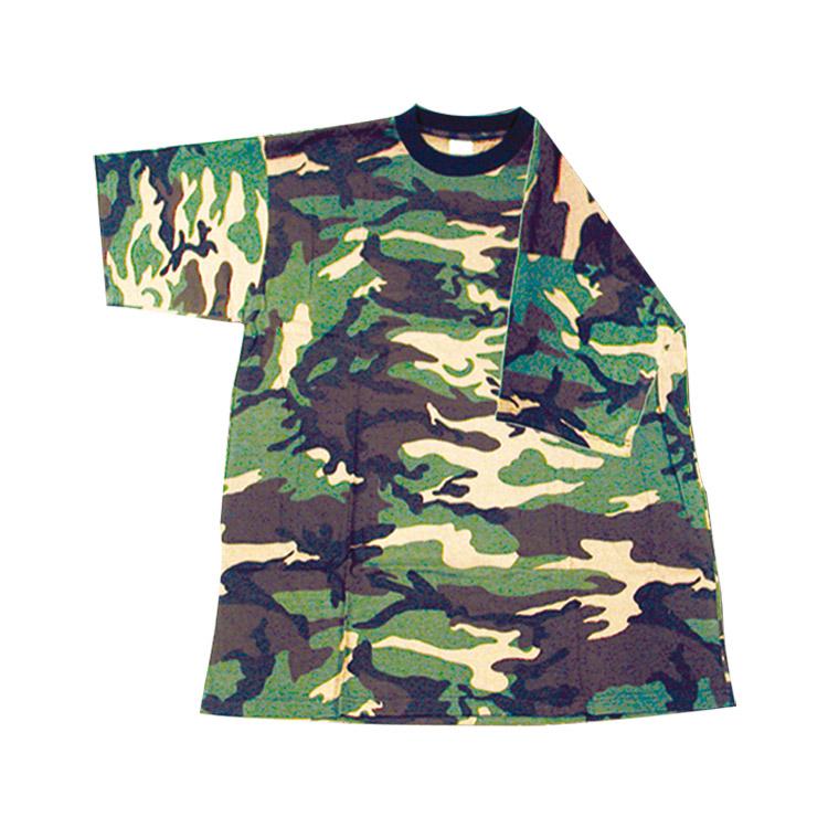 T-Shirt in Cotone Mimetico