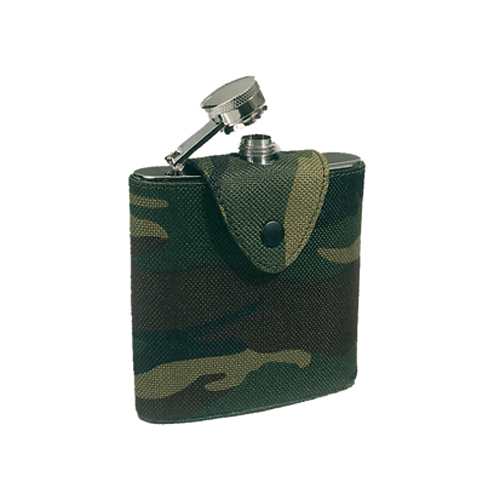 Fiaschetto in Fodero Camuflage 5 oz
