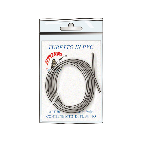 Tubino PVC morbido per Deriva 2 mt - Ø 0,8 - 1,0 - 1,5 mm
