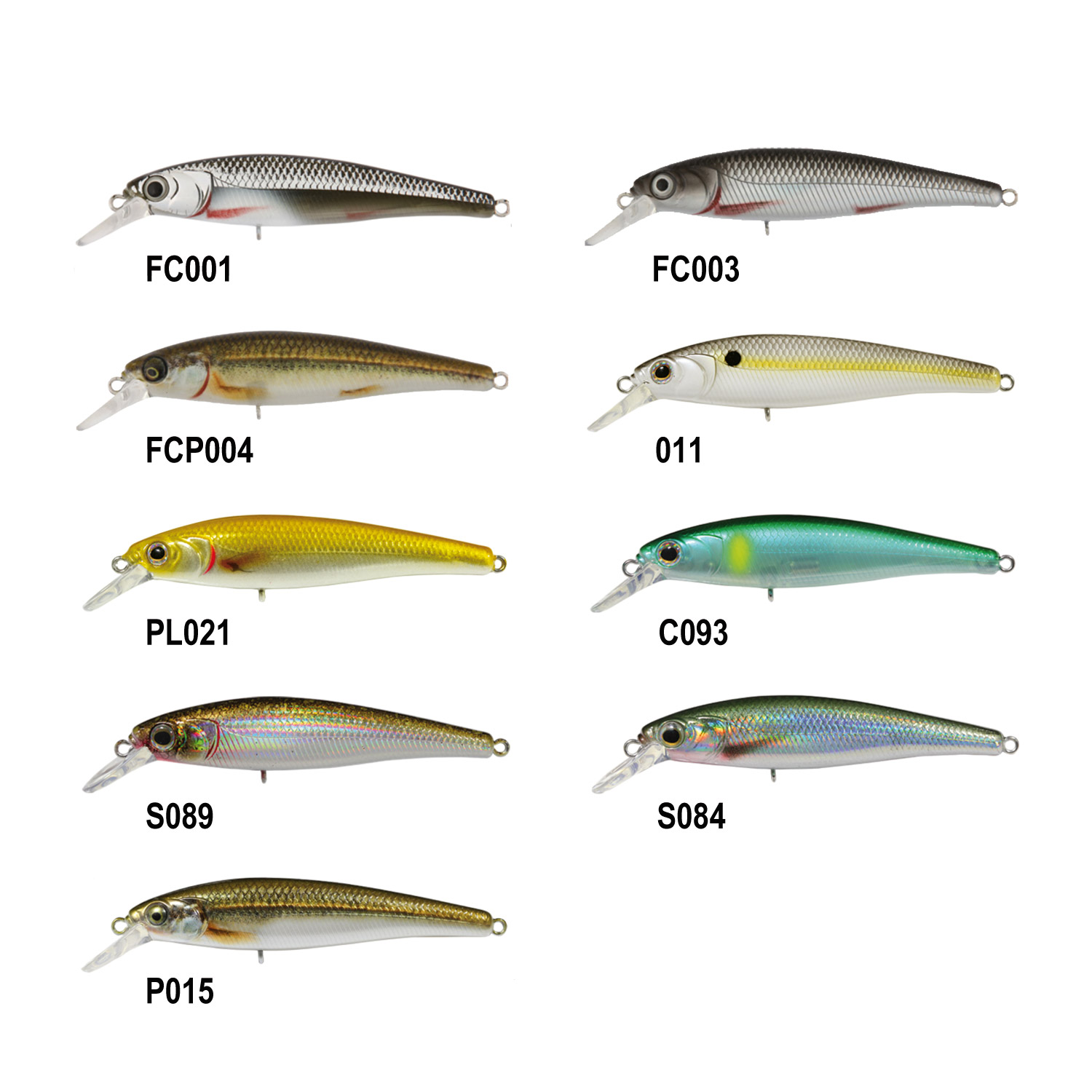 Jerkbait 65 mm - 7g 3 Ft