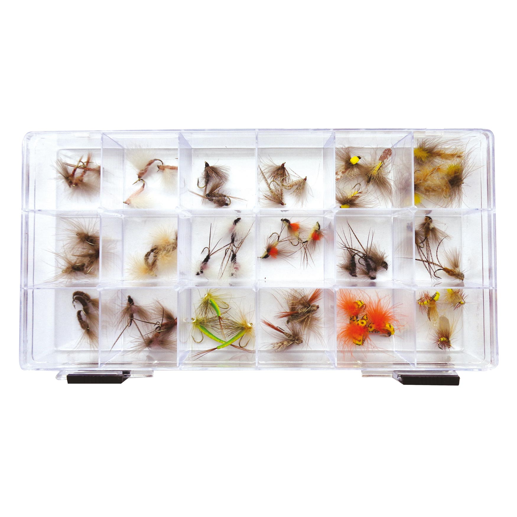 Mosche Dry Flies CDC Assortite