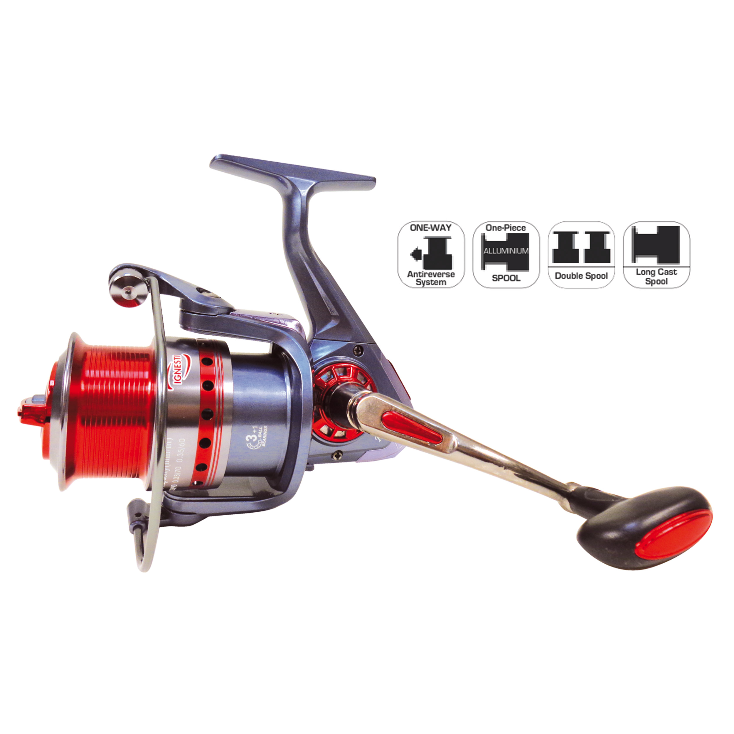 Mulinello KC Front Drag 3+1BB