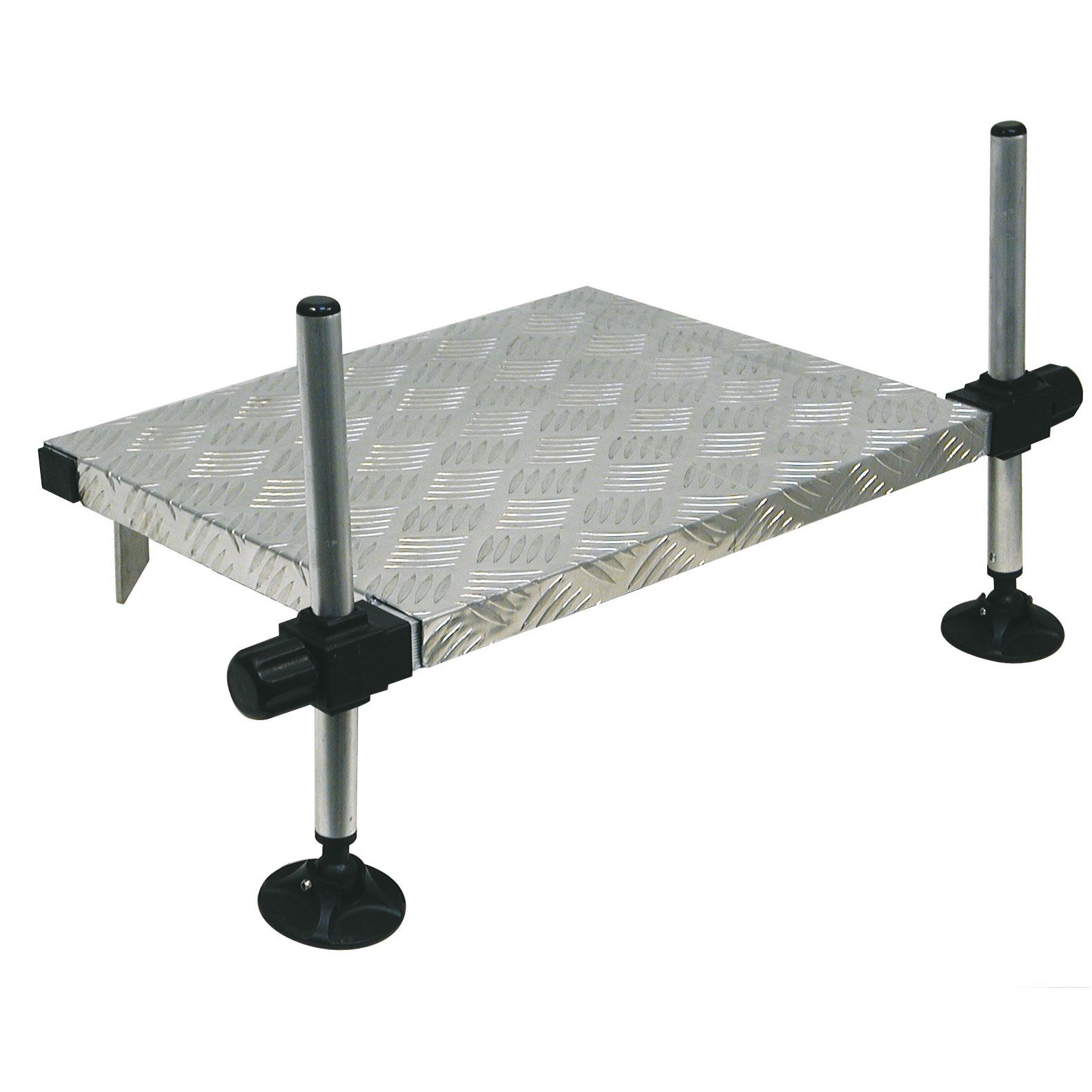 Pedana Alluminio per Sponda Ø 25 mm