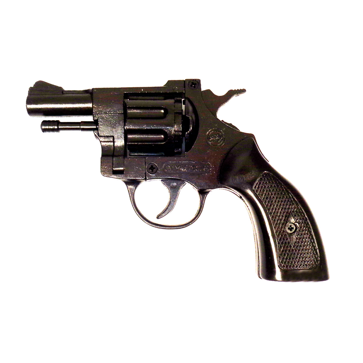 Pistola Revolver a Salve con Plastic Grip Olimpyc  Calibro 6 - 22