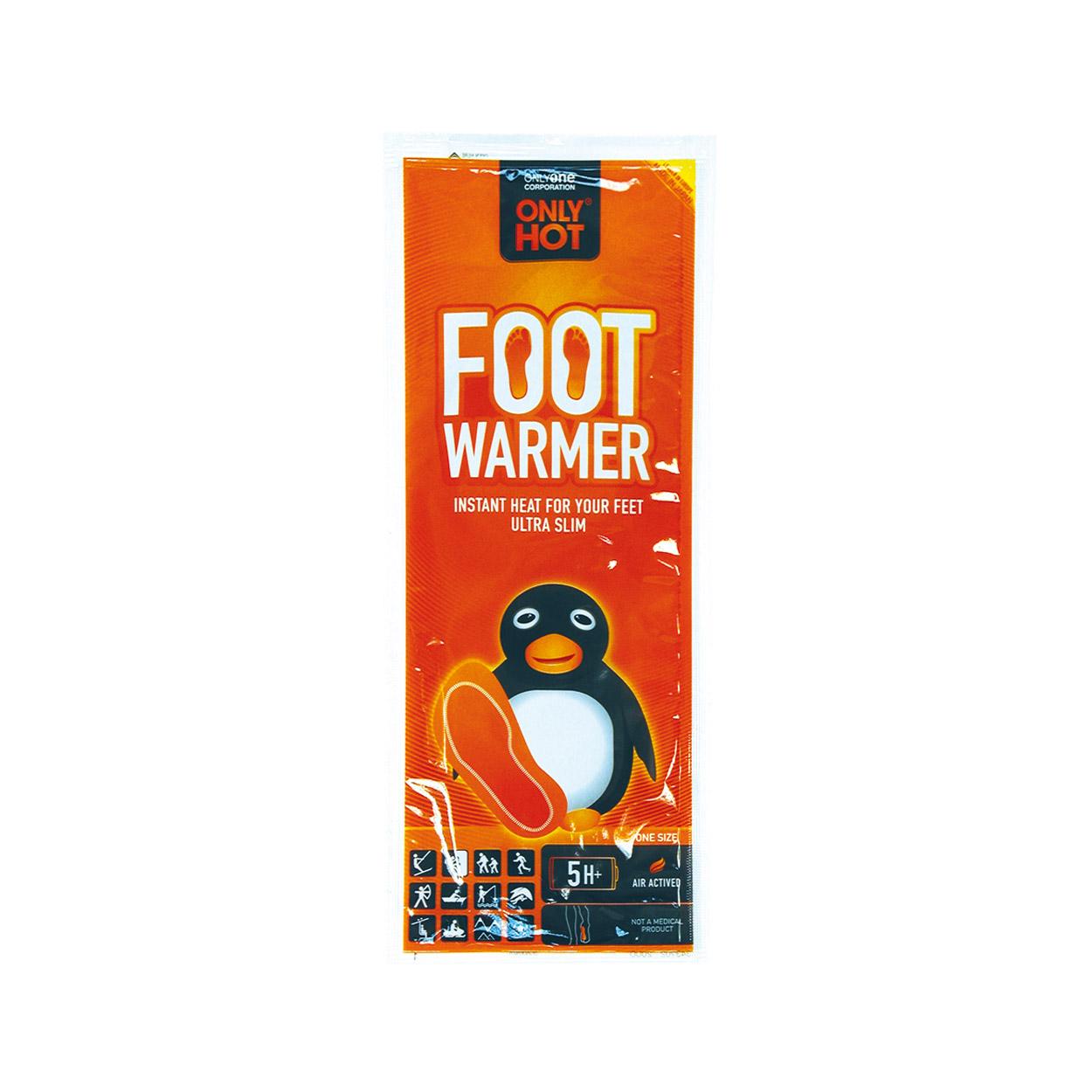 Scalda Piedi Foot a Soletta Only Hot - Pinguino 8 H