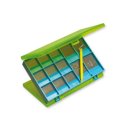 Scatole Porta Ami Doppio Magnete 31 Scomparti cm 12 x 8 x 2 h