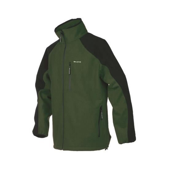 Giacca Chamonix Fleece Verde / Nero