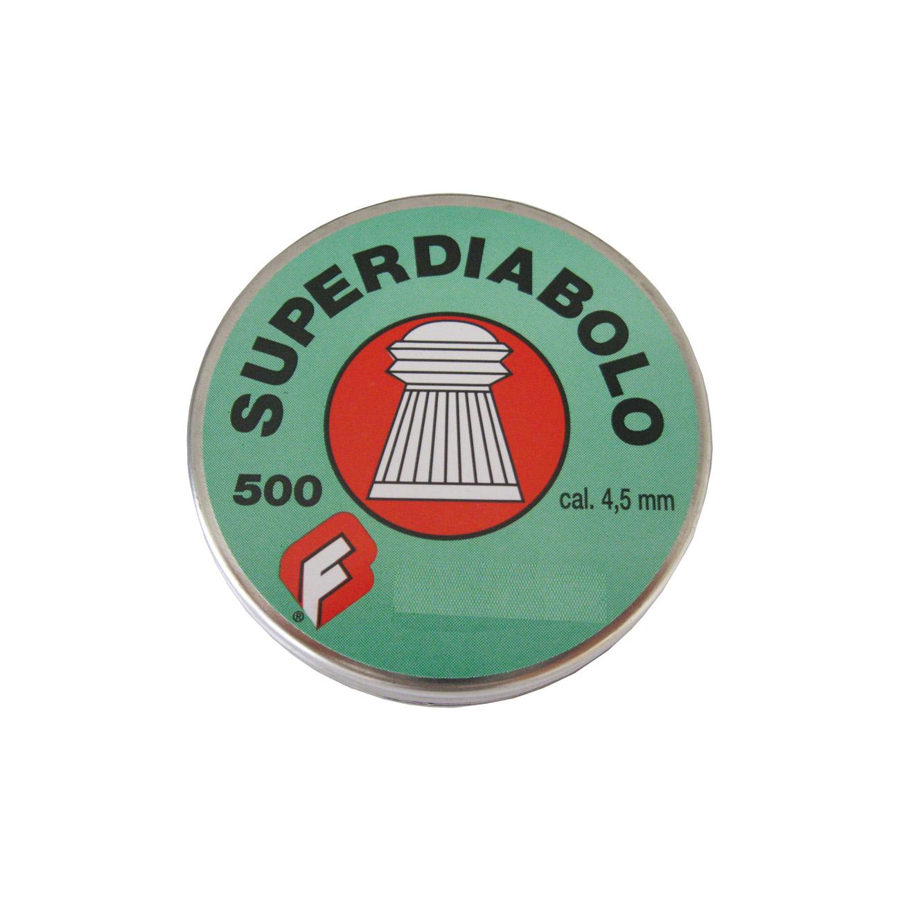 Pallini Super Diabolo Testa a Punta Ø 4,5 mm 500 pz