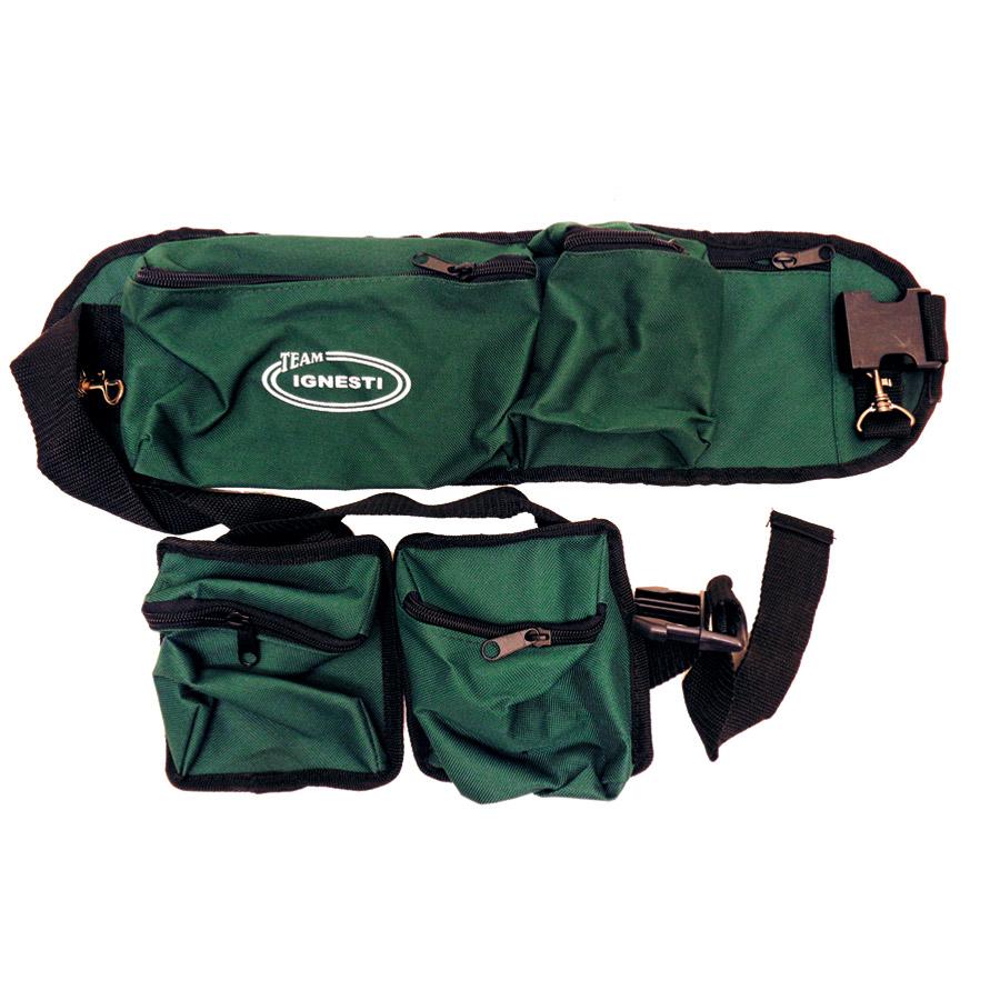Cintura Trota Torrente 15 cm con Tasche mobili 2 + 2