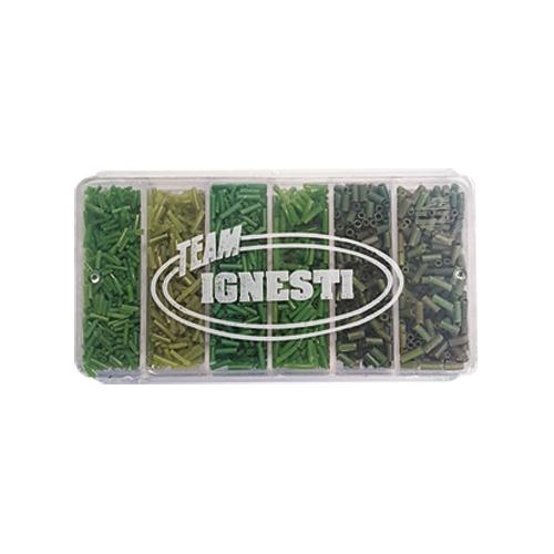 Anellini Guaina Silicone Verde