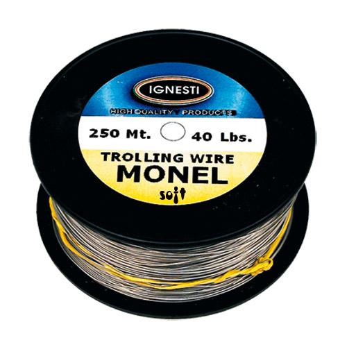 Monel Soft Trolling Wire 250 mt