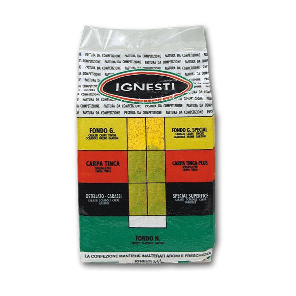 Pastura Sottovuoto Carpa Tinca Gialla / Verde 1,5 Kg
