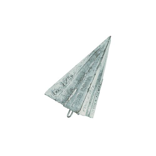 Piombo Triedro con Anello Inox