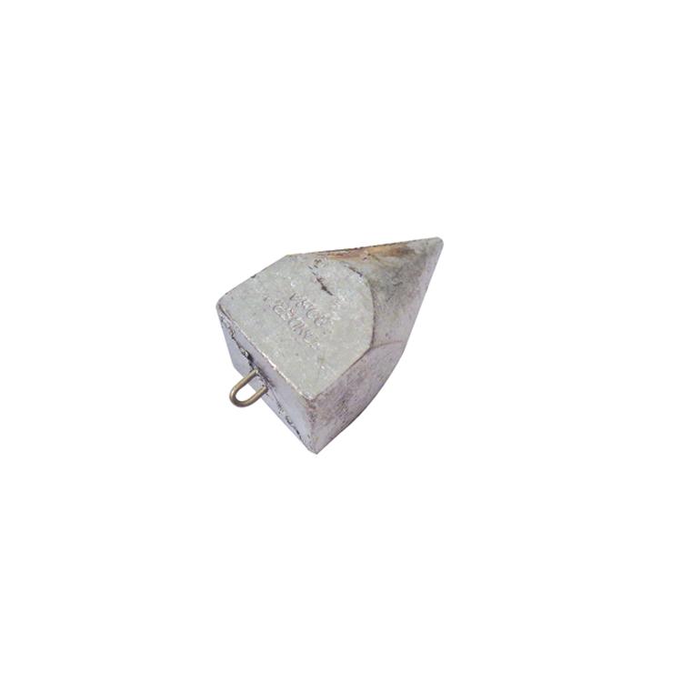 Piombo Pyramidon con Anello Inox