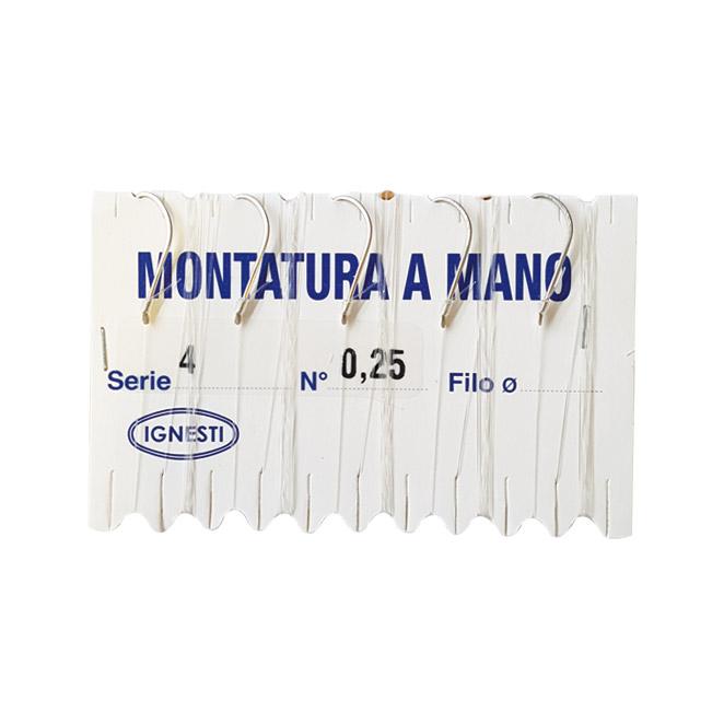 Amo Serie Mare Nickel Montato Filo  Ø 0,25 mm