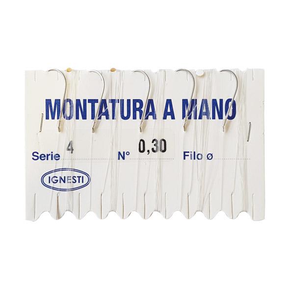 Amo Serie Mare Nickel Montato Filo  Ø 0,30 mm