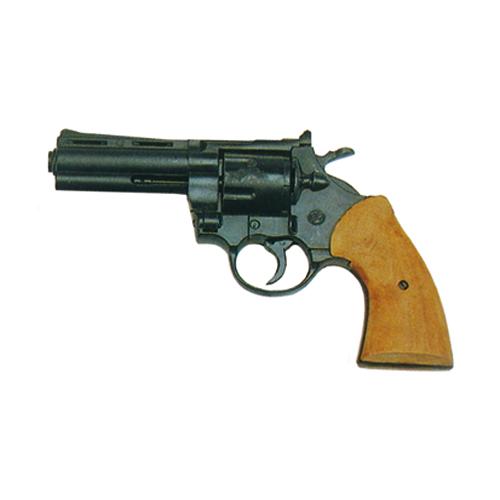 Pistola Revolver a Salve Wooden Grip Magnum Calibro 380