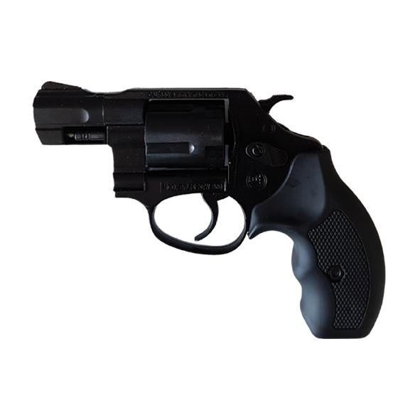 """Pistola Revolver a Salve Olimpyc 2"""" Calibro 380  Black"""