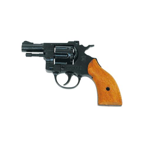 Pistola Revolver a Salve con Wooden Grip Olimpyc  Calibro 6 - 22