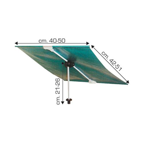 Tendina Parasole per Esche Art.380 - 381