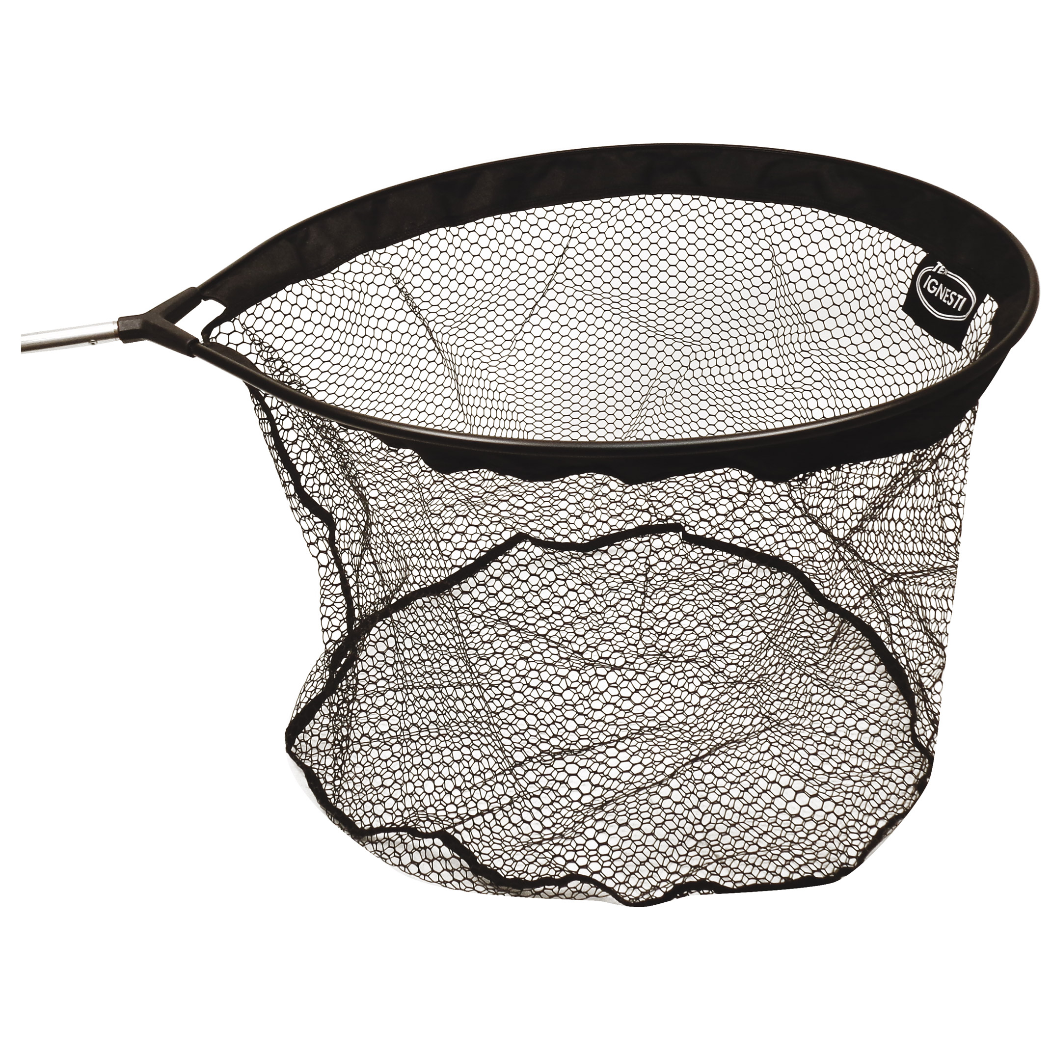 Testa Guadino Alluminio Ovale con Rete Gommata Maglia mm.10